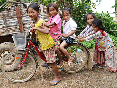 What's a childhood without a bicycle? But for an orphan, it's something they'd never imagine having even in their wildest dreams.