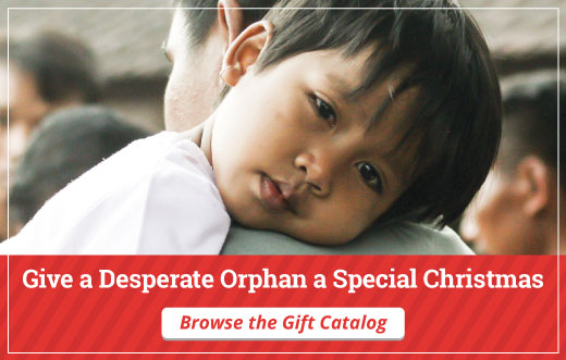Give a Desperate Orphan a Special Christmas this Year