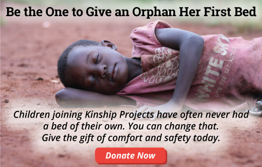 Be the One to Give an Orphan Her First Bed