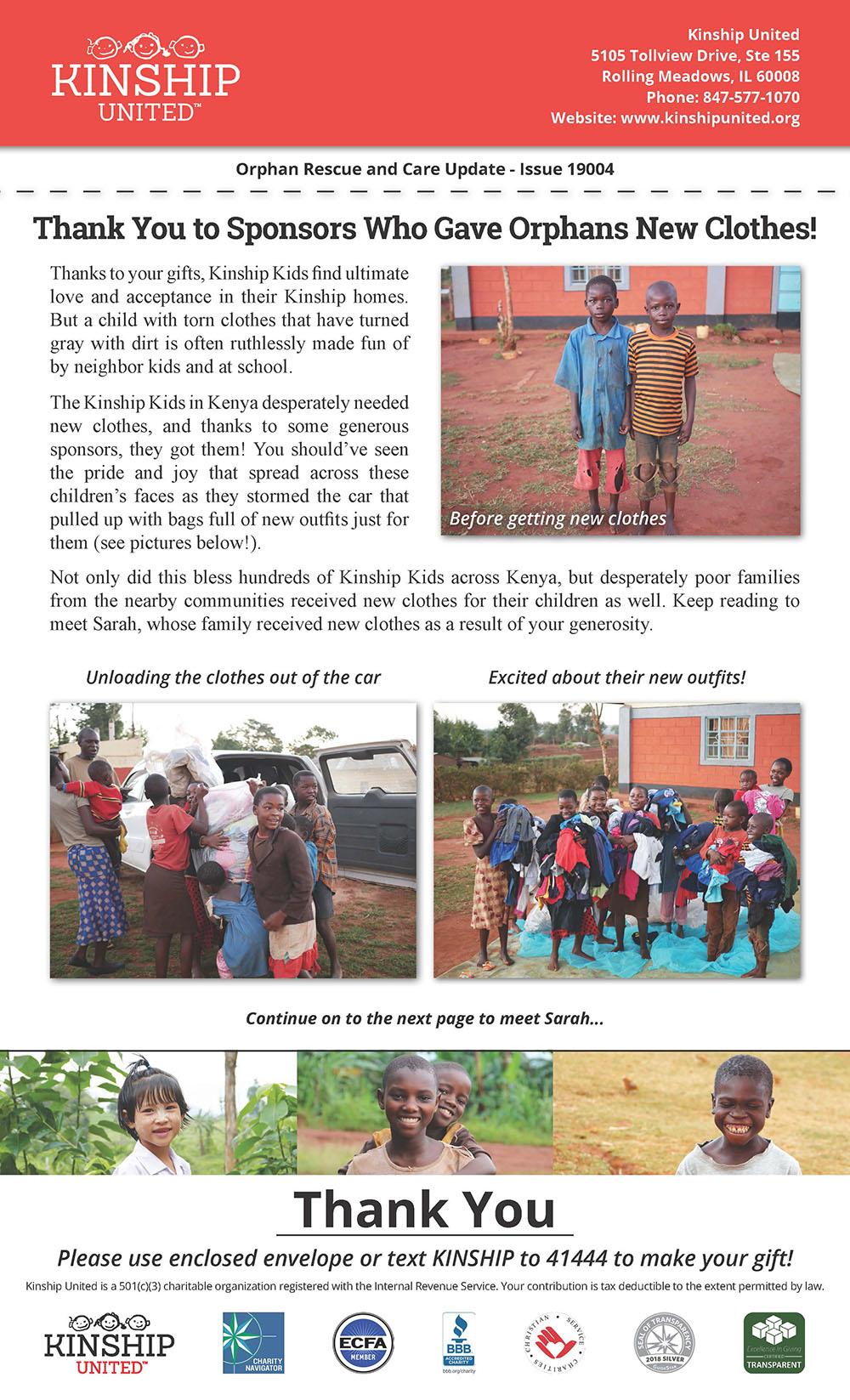 Newsletter April 2019 Issue