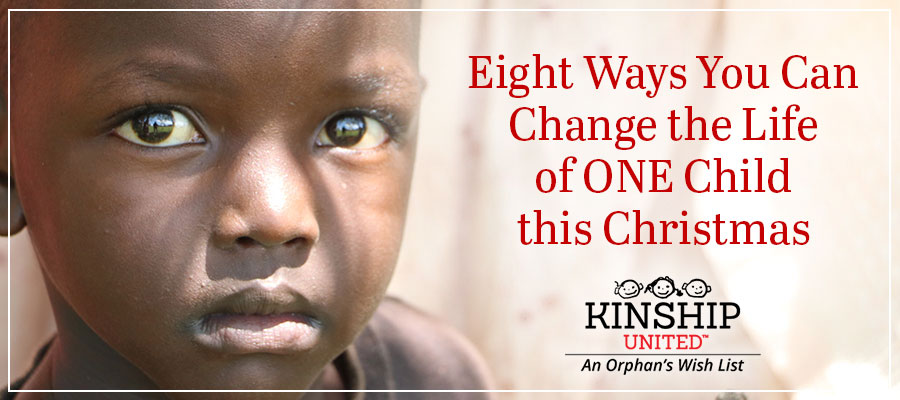 Grant an orphan's wish this Christmas.