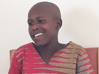Moses from the Buloba Kinship Project in Uganda