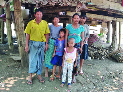Family in Thailand