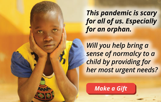 Will you help an orphan during this pandemic?
