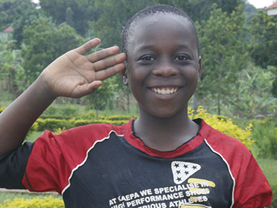 Peter from the Bakka Kinship Project in Uganda