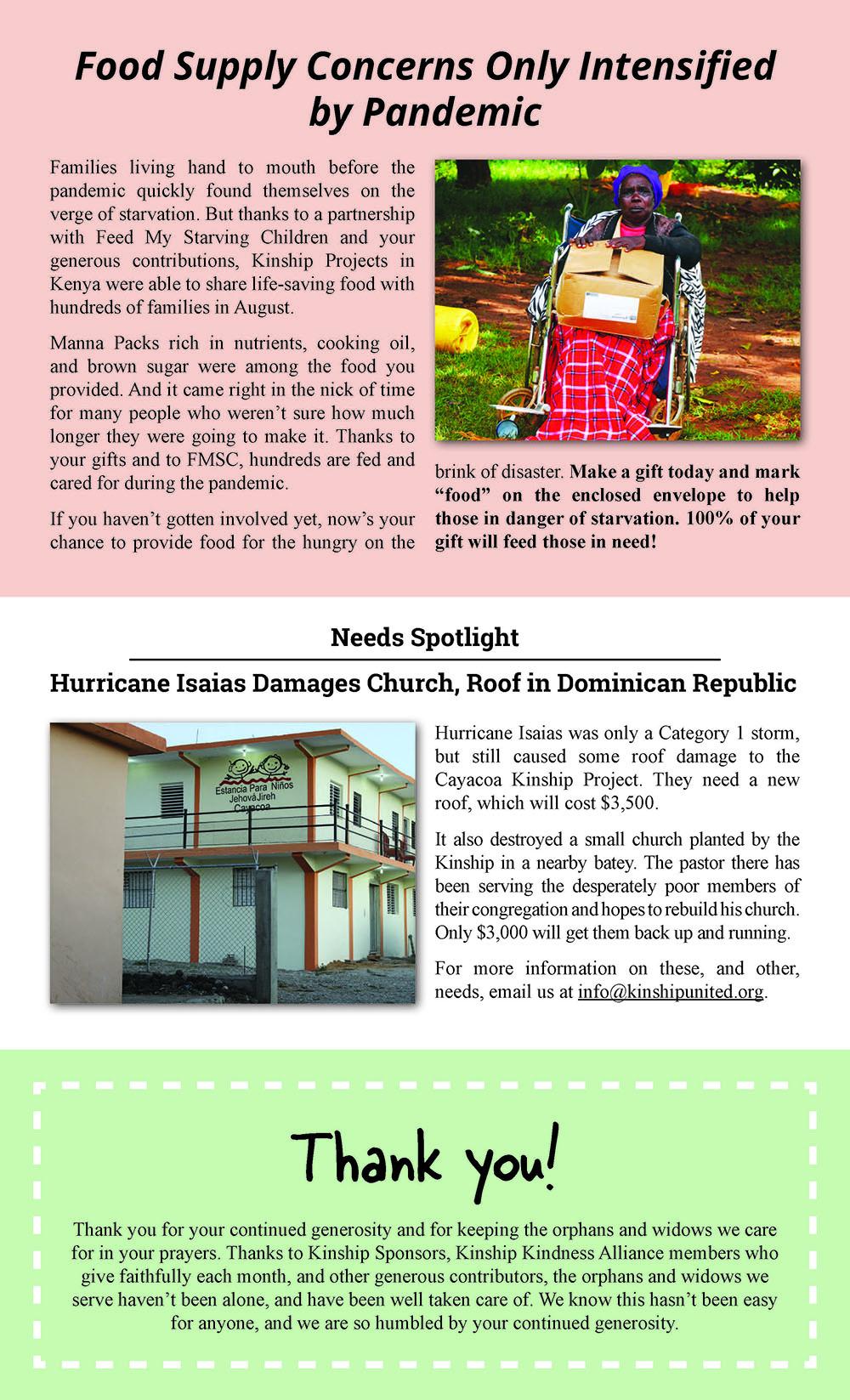 Newsletter October 2020 Issue