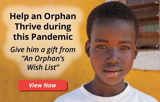 Help an Orphan Thrive During this Pandemic