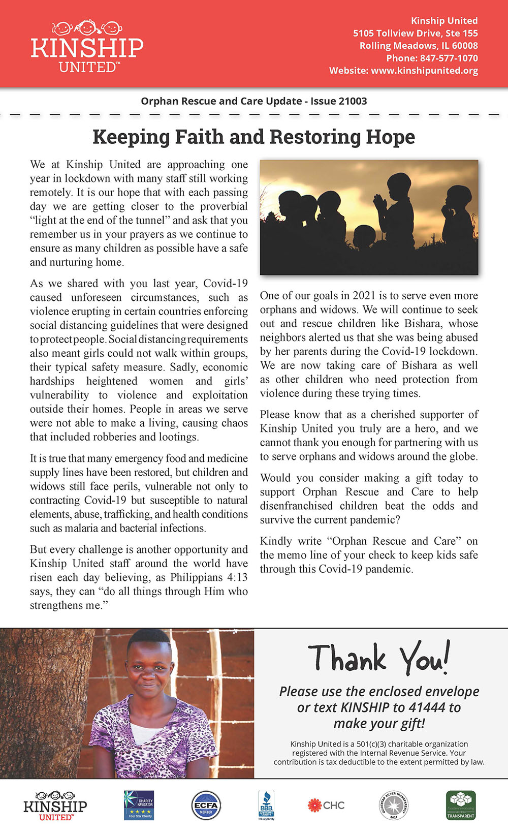 Newsletter March 2021 Issue