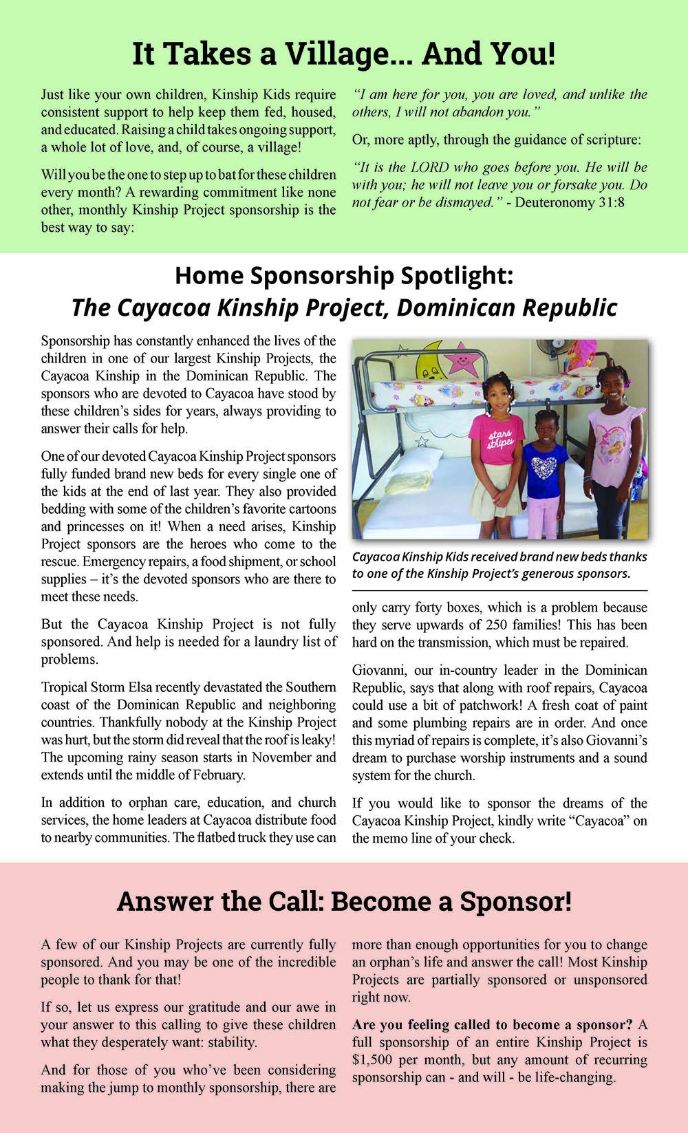 Newsletter August 2021 Issue